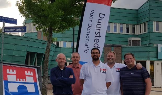 Het team van Duurstede voor democratie
