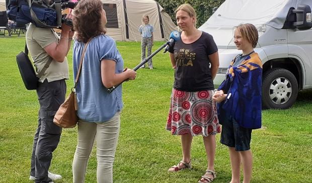 Miranda Kuijpers en haar kind Ronan vertellen hun verhaal Agnes Corbeij © BDU media