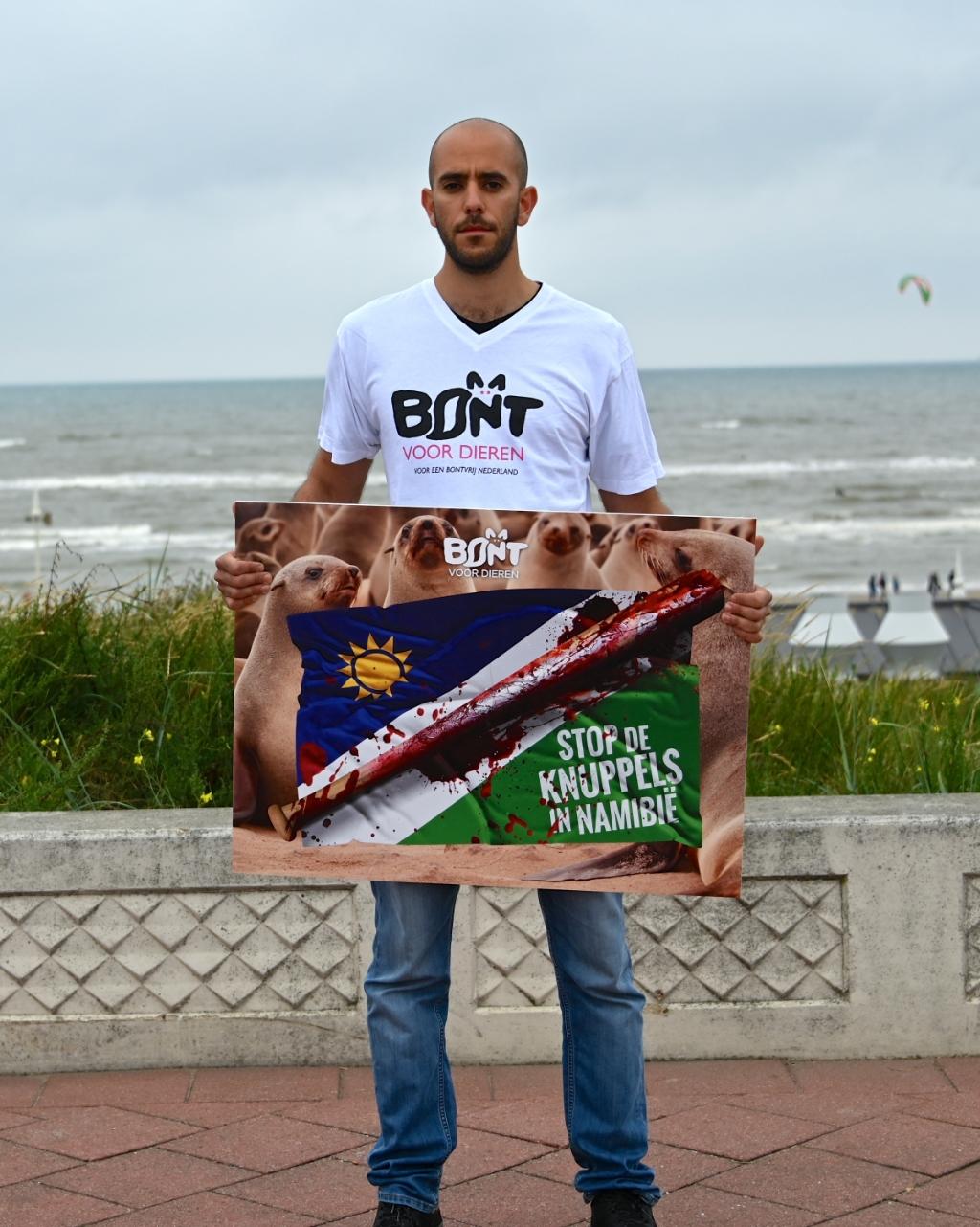 De protestactie van vorig jaar. pr © BDU Media