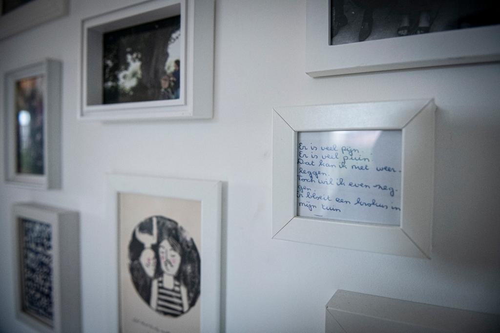 Sommige van de tekstjes die mijn moeder overschreef hangen nu in huis. Suzanne Heikoop © BDU Media