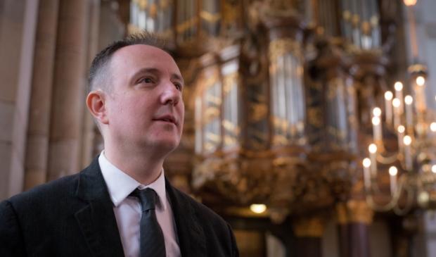 Organist Gerwin van der Plaats