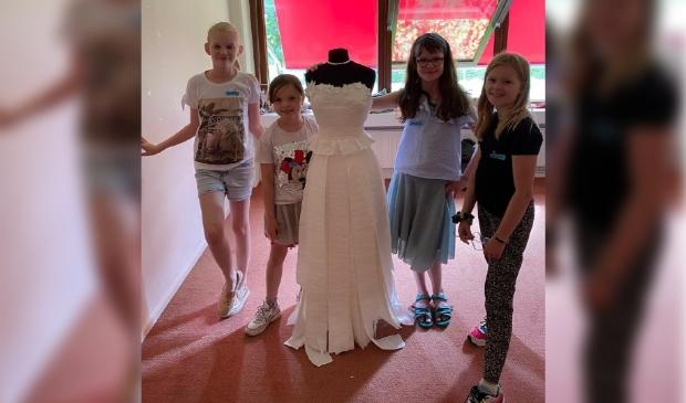 Winnaars Paper Weddingdress Challenge 2021!