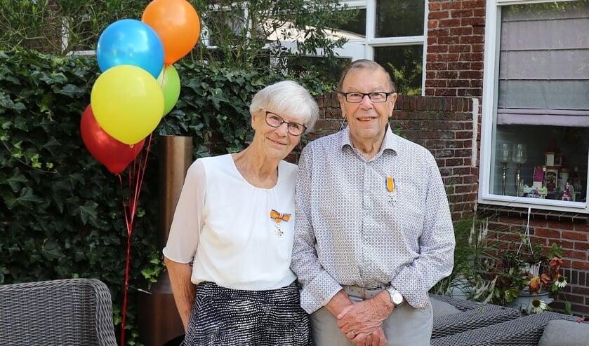 Koninklijke onderscheiding voor Velsens koppel Jan en Joke Berkhout