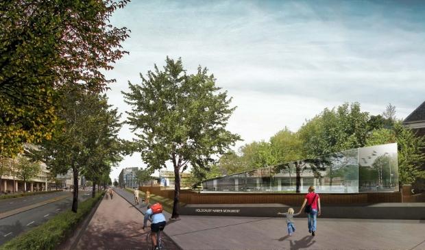 <p>Het Holocaust Namenmonument in Amsterdam.&nbsp;</p>