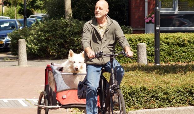 <p>Dagelijks ritje met Arax naar het Amsterdamse bos.</p>