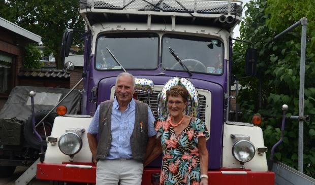 Cor en Julia Middelweerd-Gezel zijn 50 jaar getrouwd