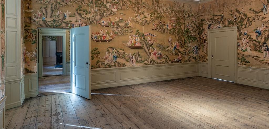 Chinese behang kamer 17e eeuw. André Russcher  © BDU media