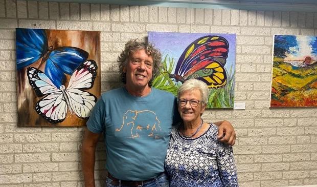 Ton van Vlierden en Corrie van Willigen in verpleeghuis Waerthove