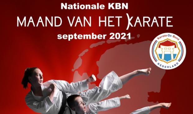 twee karateka's uit de dojo Doorn/Langbroek