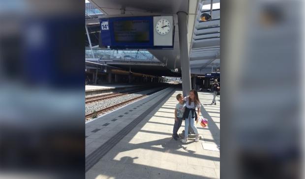 <p>Met de trein naar Driebergen.</p>