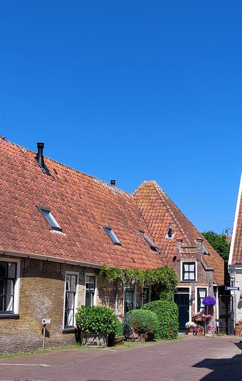 Fietstocht door Oosterend Texel. Juni 2021 Joop Bramer © BDU