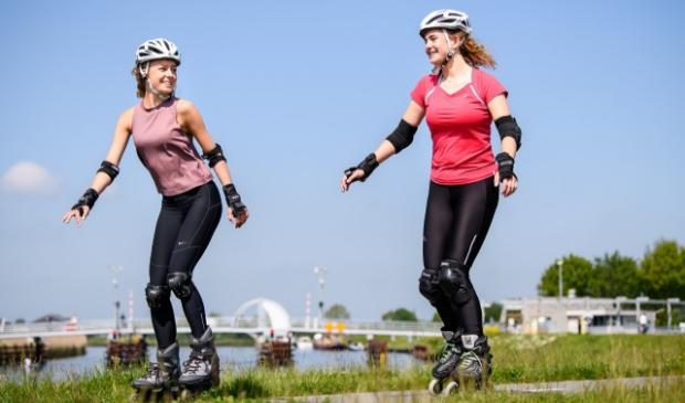 Gezellig samen skaten tijdens de Skate4daagse