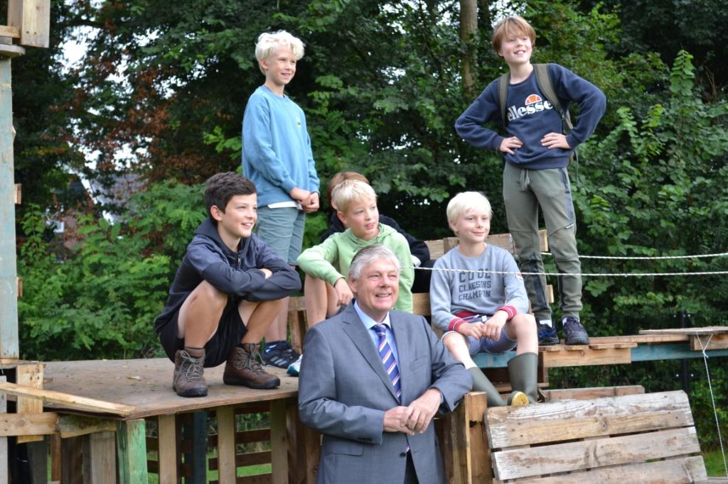 Poseren met de burgemeester. Mariëlle Tukker © BDU Media