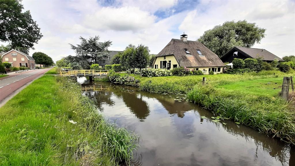 De Langbroekerdijk in Langbroek op vrijdag 13 augustus. Wilgo Deekman © BDU