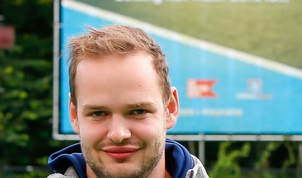 <p>Floris - Jan den Houting positief over zijn team</p>
