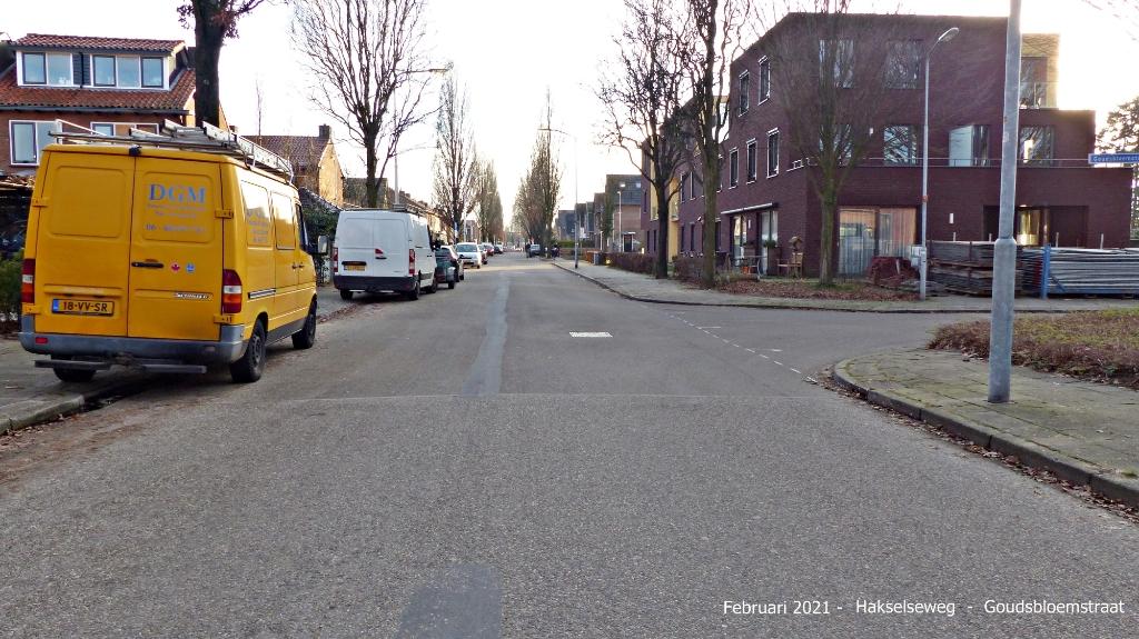Hakselseweg-Goudsbloemstraat / voor Dinky © BDU Media