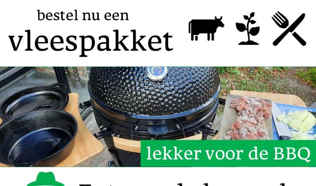 <p>reclamebord Eet van de boer. nl</p>