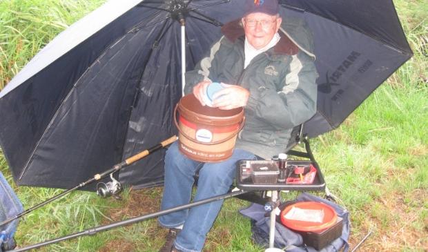 Vas Rietveld wint met 3700 gram bij de zaterdagwal
