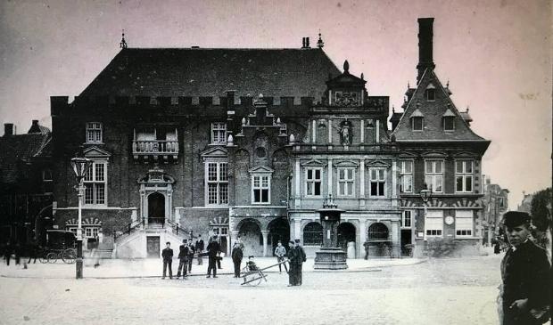 <p>Stadhuis Haarlem 1900-1910.&nbsp;</p>