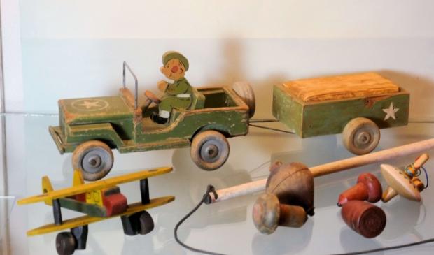 <p>Kinderen konden uren spelen met dergelijk speelgoed.</p>