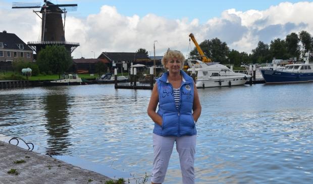 VVV vrijwilliger Antoinette van Proosdij