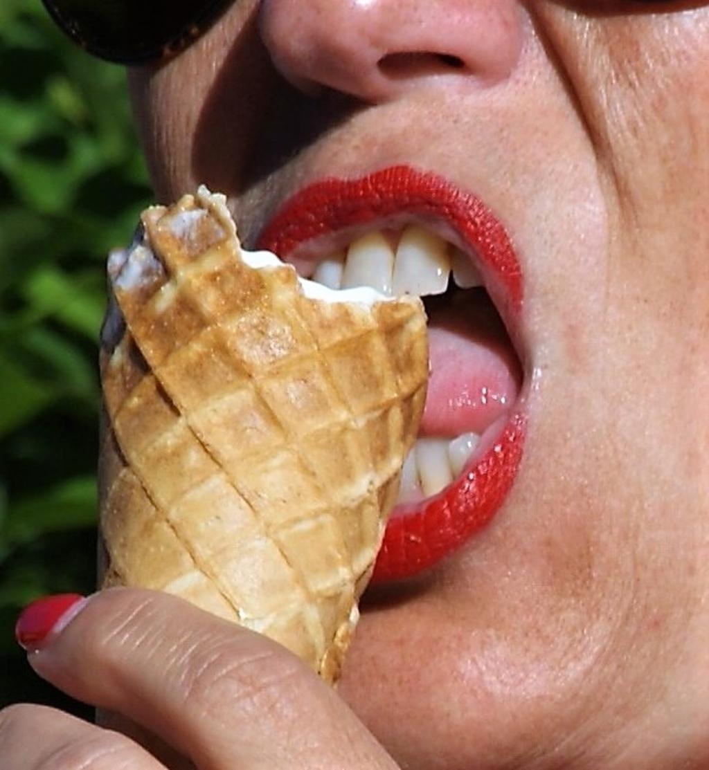 Genieten van een heerlijk ijsje! Peter Epping © BDU media