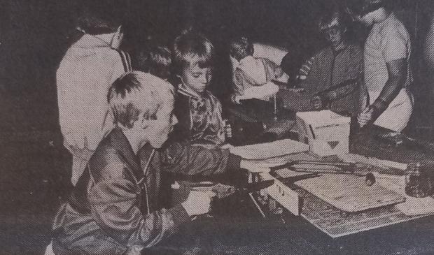<p>Een foto uit 1981 uit Het Kompas van de Speel-in.&nbsp;</p>