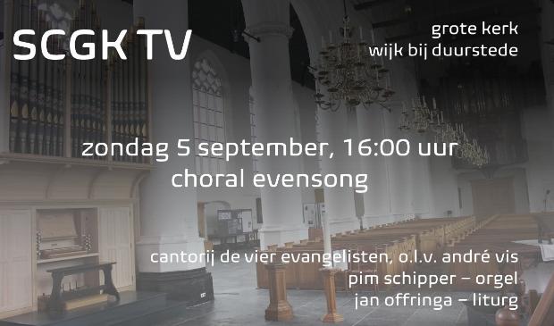 Choral Evensong met cantorij de vier evangelisten