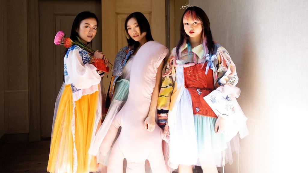Expositie HKU Fashion Design Class of 2021.  Xuan Lui  © BDU media