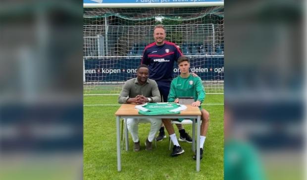 <p>Anouar El Azzouzi maakte deze zomer de overstap naar FC Dordrecht.</p>