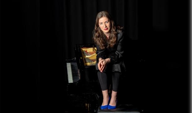 Lineke Lever vindt het geweldig een concert te geven in Bennekom, waar ze getogen is.