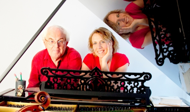 Kamermuziek duo Frans van Ruth (piano) en Doris Hochscheid (cello) t.b.v.  Randmeerconcert Putten van 25 september.