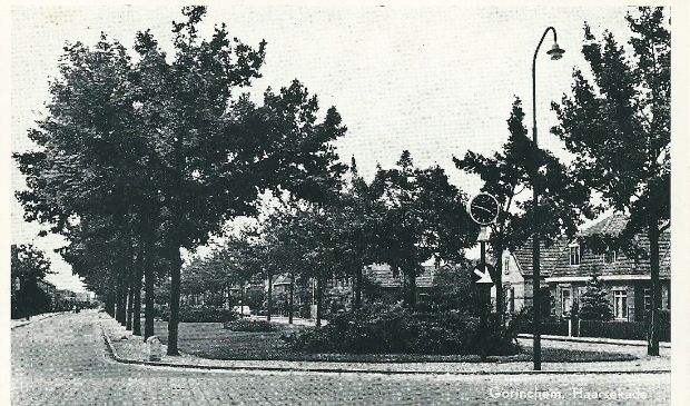 Haarsekade ca 1950