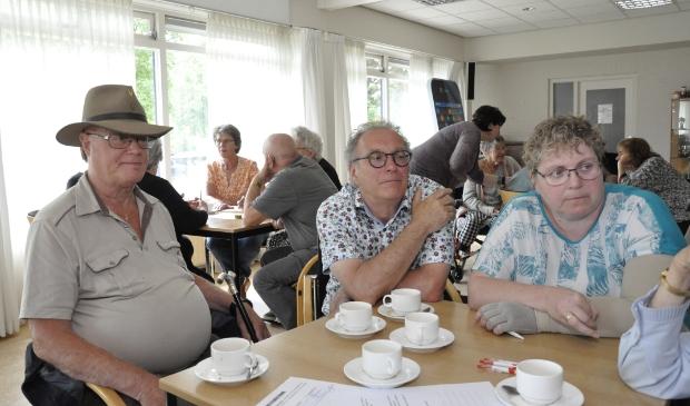 Een drukbezochte bijeenkomst van Koffie, Cake en WMO