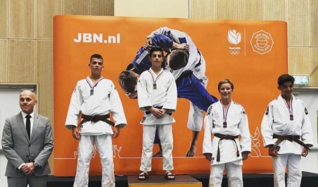Judoka Luca Tsjakadoea kampioen van Nederland