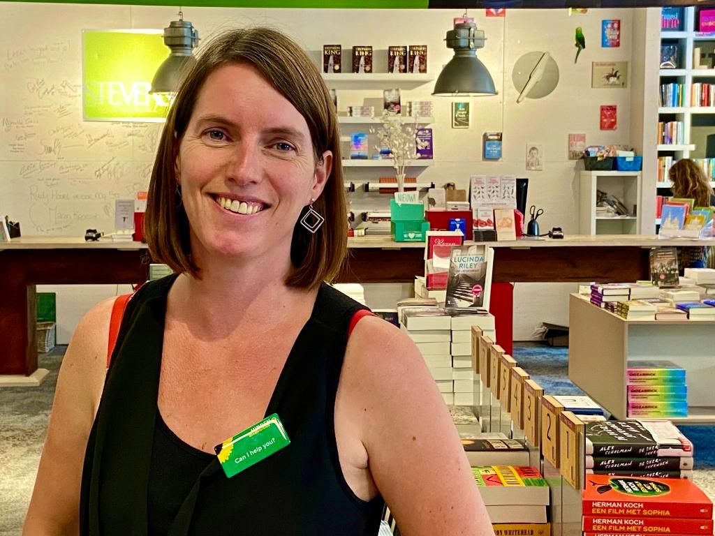 Lisa helpt al haar klanten als er extra hulp nodig isgraag  Lisa © BDU media