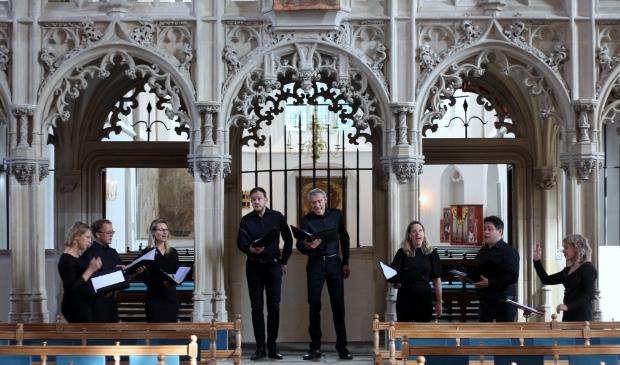 Zondagmiddag 12 september zong Voxtet, in het kader van 'Momentum'  van de Raad van Kerken.