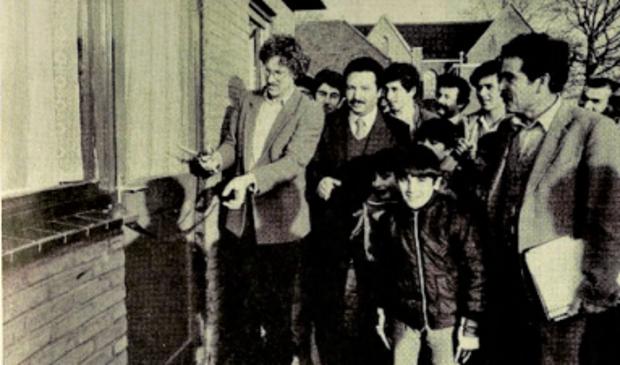 <p>Uit de Soester Courant van 21 december 1983: opening van de toenmalige moskee aan de Parallelweg.</p>