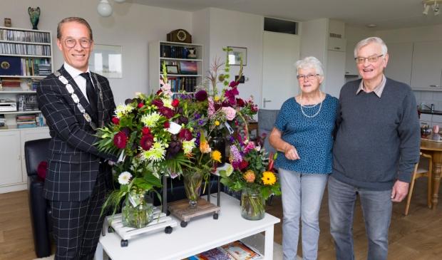 Fam Buys 60 jaar getrouwd