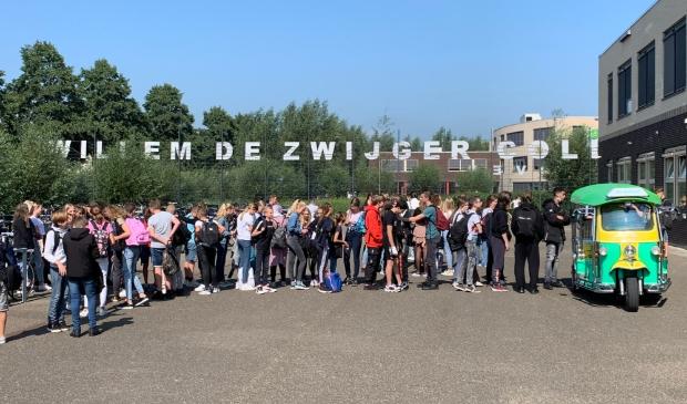 Een verfrissende verrassing voor alle scholieren van het Willem de Zwijger College