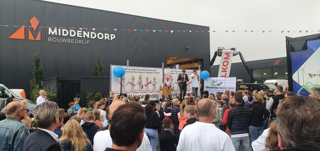 Burgemeester René Verhulst opent vrijdag de Bouwinspiratiedag. Middendorp © BDU media