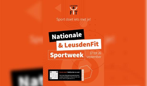 Uitnodiging Nationale & LeusdenFit week