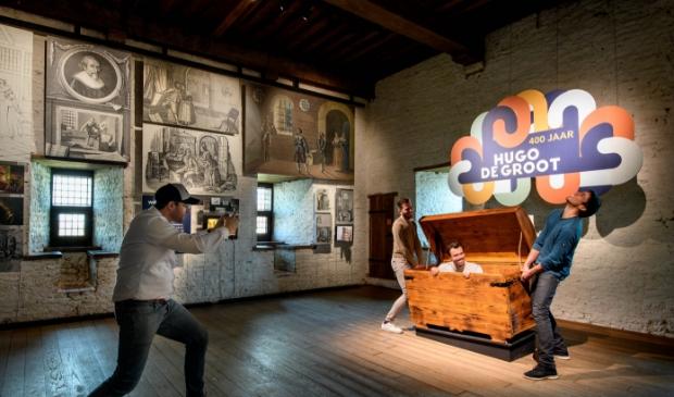 Op Slot Loevestein is een expositie ingericht over 400 jaar Hugo de Groot Mike Bink fotografie © BDU Media