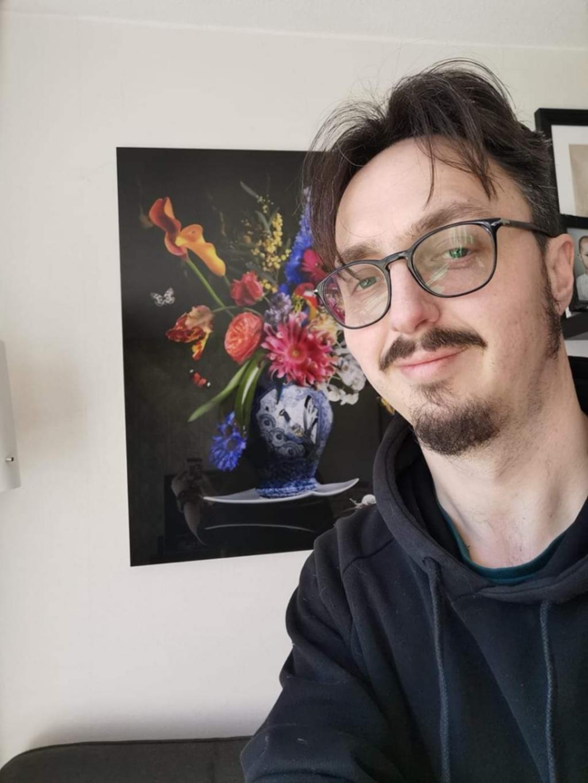 """<p dir=""""ltr"""">Royal freedom; de digitale bloemenkunst van Sander van Laar wordt gezien als de nieuwe revolutie in de digitale wereld van fotografie. &nbsp; Soroptimistclub Rhenen-Veenendaal © BDU Media"""