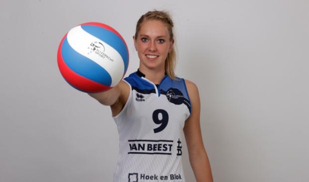 <p>De 21-jarige Vera Mulder is de enige &#39;externe&#39; nieuweling in de selectie 2021-2022</p>