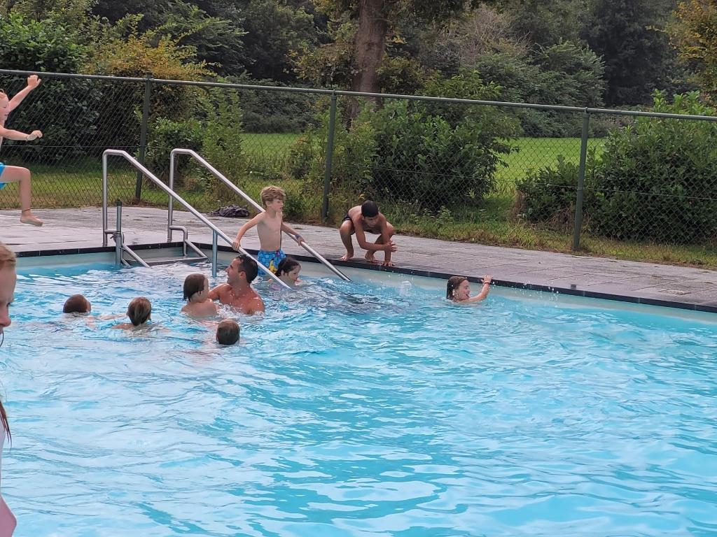 Zwemmen voor wie durft David Jacobs © BDU media