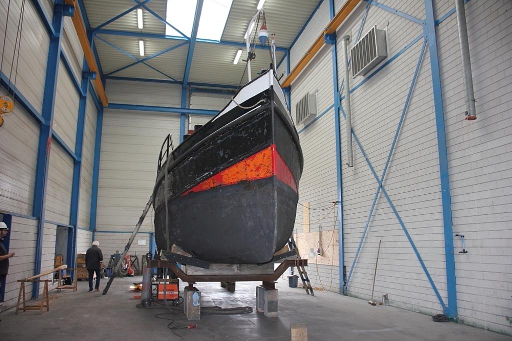 """<p lang="""""""">Stoomboot Jan de Sterke in het dok bij scheepswerf Damen te Hardinxveld-Giessendam Jan de Sterke  © BDU media"""
