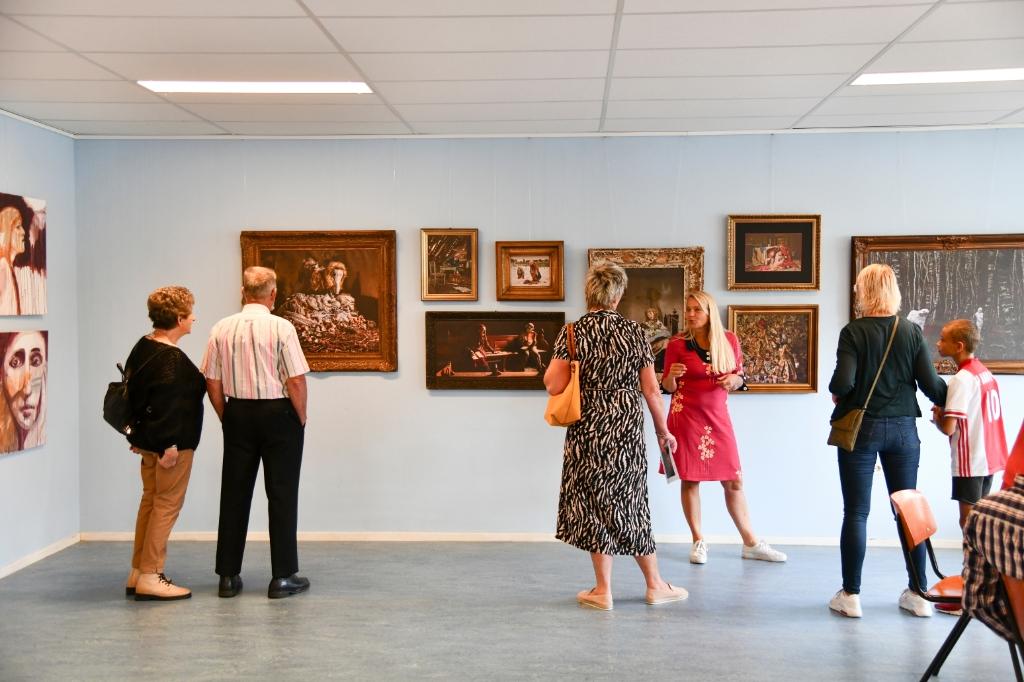Bezoekers van De Rank konden onder meer genieten van creaties van lokale kunstenaars. Jaap van den Broek © BDU media