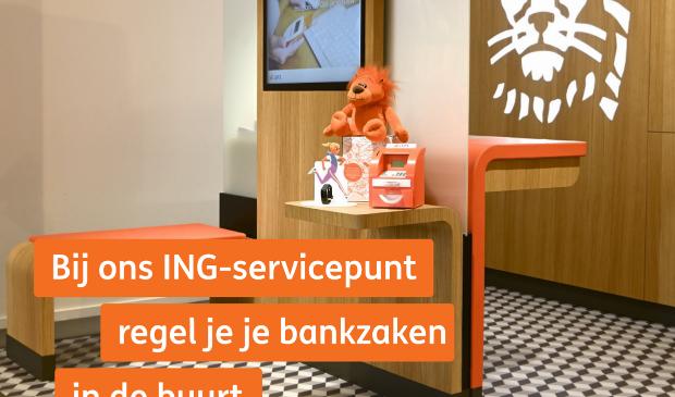 <p>Vanaf nu kunt u bij een spiksplinternieuw ING-servicepunt terecht in Kantoorvakhandel Dapper, Julianalaan 36 in Bilthoven </p>