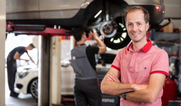 <p>Steven van Kranenburg zoekt een nieuwe collega.</p>